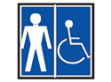 Picture of Men Handicap Accessible