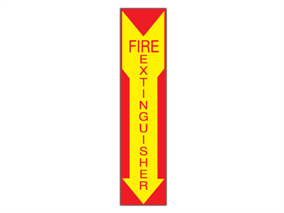 Picture of Fire Extinguisher Arrow Down