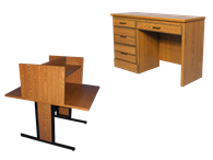 Picture for category Desks and Carrels