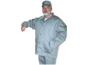 Picture of Inmate Coat Gray Twill