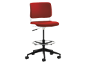 Picture of Sitka Armless Task Stool With Upholstered Seat And Back