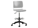 Picture of Sitka Armless Task Stool With Poly Seat And Back
