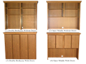 Picture of Heritage Manager's Credenza Hutches