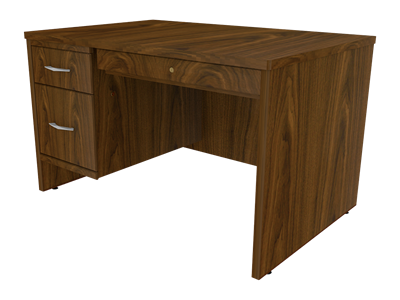 Picture of Miller Single Pedestal Desk