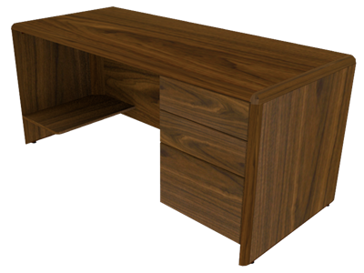 Picture of Eclipse Single Pedestal Desk