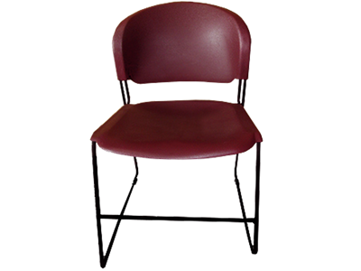 Picture of CLEARANCE: Rodular Stack Chair - Black River Frame - Choice Seat