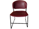 Picture of CLEARANCE: Rodular Stack Chair - Coal Black Frame - Choice Seat