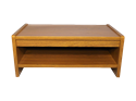 Picture of CLEARANCE: Crescent Coffee Table Mahogany