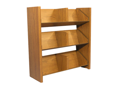 Picture of CLEARANCE: Magazine Rack Mahogany