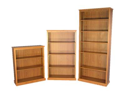 Picture of CLEARANCE: Heritage 82H Bookcase Mahogany
