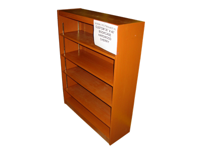 """Picture of CLEARANCE: Custom Bookcase CPL1700 36"""" X 48"""" Hardwood"""