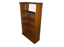 Picture of CLEARANCE: Heritage 60H Bookcase Walnut