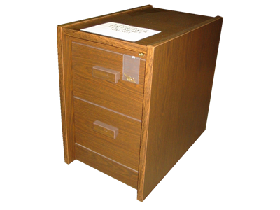 Picture of CLEARANCE: STM File Cabinet 2 Drawer Walnut