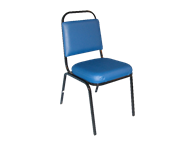 Picture of Upholstered Square Back Stack Chair