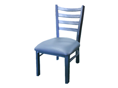 Picture of Metal Ladder Back Chair