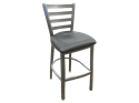 Picture of Metal Ladder Back Barstool