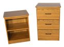 Picture of CLEARANCE: DF Nightstand Open Front Cherry