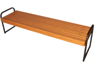 Picture of Slatted Seat Bench