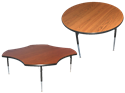 """Picture of CLEARANCE: SH Activity Table 36""""W Rnd Shape Low Leg 15""""-19""""H Mah"""