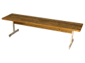 Picture of Wood Slat Flat Bench