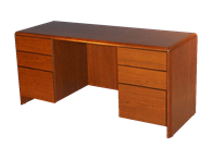 Picture of Eclipse Kneehole Credenza