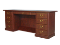 Picture of Heritage President's Kneehole Credenza