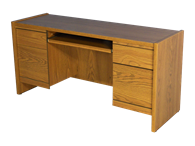 Picture of Statesman Executive Kneehole Credenza