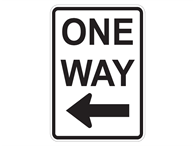 Picture of One Way Left w/Arrow