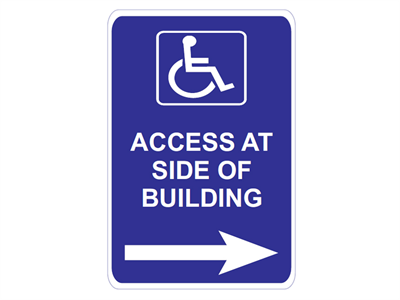 Picture of Access At Side Of Building