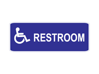 Picture of Restroom-Text