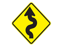 Picture of Left-Right Curves Ahead