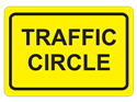 Picture of Traffic Circle-Text