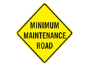 Picture of Minimum Maintenance Road