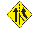 Picture of Merging Traffic From Right Ahead