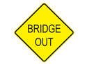 Picture of Bridge Out-Text