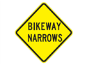 Picture of Bikeway Narrows-Text