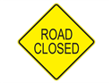 Picture of Road Closed-Text
