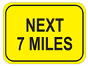 Picture of Next 7 Miles-Text