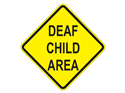 Picture of Deaf Child Area-Text