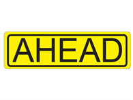 Picture of Ahead-Text