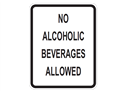 Picture of No Alcoholic Beverages Allowed