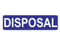 Picture of Disposal-Text