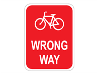 Picture of Bike Wrong Way