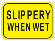 Picture of Slippery When Wet-Text