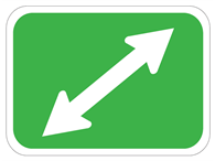 Picture of Diagonal Double Arrow
