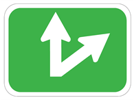 Picture of Up And Diagonal Right Arrow