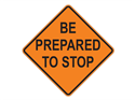 Picture of Be Prepared To Stop