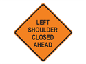 Picture of Left Shoulder Closed Ahead