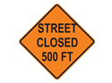 Picture of Street Closed 500 FT