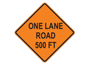Picture of One Lane Road 500 FT